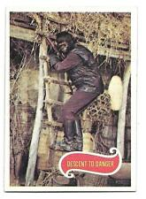PLANET OF THE APES MOVIE CARD NO 44 DESCENT TO DANGER  TOPPS NRMINT+ 5115