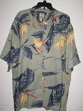 TOMMY BAHAMA  XL mens 100% silk floral casual button down hawaiin shirt$24.00