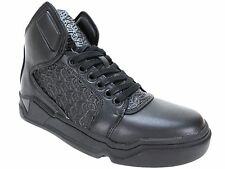 Guess Men's Brice High-Top Sneakers Black Size 8.5 M