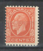Canada Sc 200 8c KGV UMM MNH  CV $40