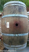 5 authentic Used Wine Barrels, Napa Valley, FREE SHIPPING, LOWEST PRICE ON EBAY!