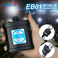 TrustFire EB01 8.4V Li-ion Rechargerable Battery Pack Case USB For Bicycle Bike