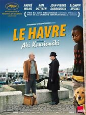 Affiche Pliée 120x160cm LE HAVRE 2011 André Wilms, Outinen, Darroussin NEUVE