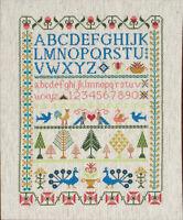 Victorian Sampler : Anchor Cross Stitch Kit - JU0120-CC78962