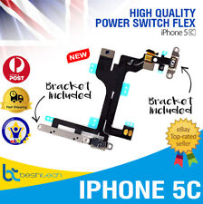 iPhone 5C OEM Volume Mute Sleep Button Power Switch On/Off Button with Metal