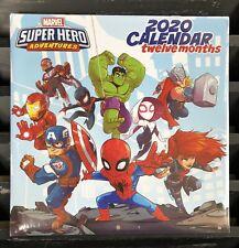 MARVEL Super Hero 2020 Twelve Month Wall Calendar Marvel Super Hero Adventures