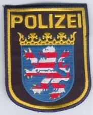 German Police/Hessen Patch new blue Uniform, RARE, I/II