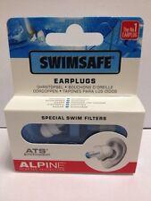 ALPINE swimsafe auricolari personalizzati con speciale Swim filters-cheapest PREZZO SU EBAY