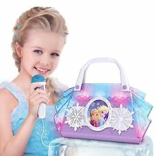 Disney Frozen Sing Along Boombox Karaoke Microphone Light Up Handbag - Anna Elsa