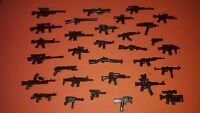 12x Custom Detailed Brick Armoury Weapons Guns for LEGO® Minifigures
