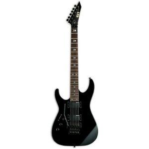 ESP LTD KH-202 LH Kirk Hammett Black Left-Handed Electric Guitar B-Stock