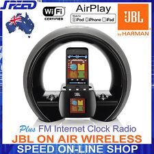 JBL ON AIR WIRELESS AirPlay Speaker for all iPhone/iPad/iPod + FM Internet RADIO