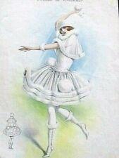 La Boule de Neige Album de Travesti L. Demuylder  Rare litho Art-Déco