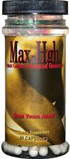 Maximum International Max-HGH Men Women Anti Aging Reduce Wrinkles 80 Count