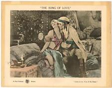 THE SONG OF LOVE (1923) Silent Film Norma Talmadge as an Algerian Dancing Girl