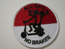 """HMM-462 """"ALL GAS NO BRAKES"""" PATCH  USMC - :GA18-1"""