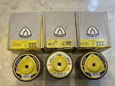 New listing 30 Klingspor Smt640 940 Special Abrasive Mop Flap Disc 4 1/2 5/8-11 Hub Grit 36