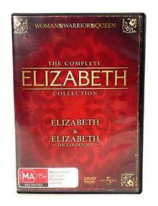 Elizabeth & Elizabeth The Golden Age (DVD, 2007) Cate Blanchett Region 4