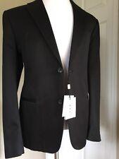 G F Ferre Sport Coat Jacket Black 44 US ( 54 Eur ) NWT $1150 Italy