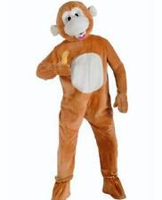 Forum Novelties $149 Mens MONKEY / APE Tan Halloween Animal Costume  O/S FIT ALL