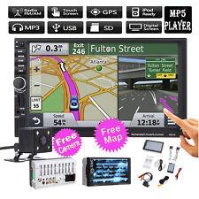 "7"" TFT Touch Screen 2DIN Car Radio FM Stereo MP5 Player GPS WIFI Bluetooth Navi"