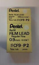 NEW Pentel FIlm Lead Regular Fine (0.9mm) Pack Of 12
