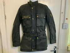 VINTAGE 70'S BELSTAFF TRIALMASTER PRO WAXED COTTON MOTORCYCLE JACKET SIZE XS