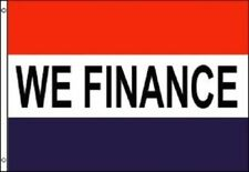 We Finance Flag Financing Advertising Banner Store Pennant Business Sign 3x5