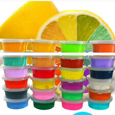 1PCS Colorful Crystal Plasticine Clay Jelly Slime Mud Kid Intelligent Toys POP