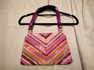 OLGA BERG Shoulder Bag - pinks/purple - Hardly used