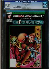 GHOSTBUSTERS 2 #3 CGC 9.8 MINT WHITE PAGES 1989 NOW COMICS PUBLISHER BLUE LABEL
