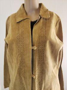 Marsh Landing Women's Button Front Jacket and Skirt Cutout Hem Med Top 10  Suit