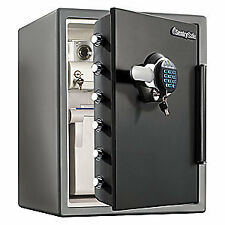 SENTRY SAFE Steel Fire Safe,2.05 cu ft,Black/Gray, SFW205GRC, Black/Gray