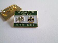a1 CELTIC - RAPID WIEN cup uefa europa league 2010 spilla football calcio pins