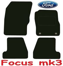 Deluxe Quality Car Mats for Ford Focus 11 Onwards ** Tailored for Perfect fit ;)