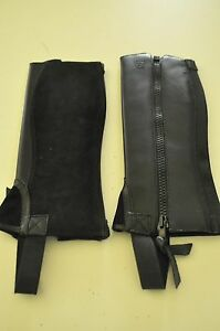 Chaps Ariat Stable Kids Riding Black