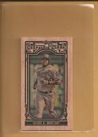 2013 Topps Gypsy Queen Dayan Viciedo MINI WOOD Parallel Card # 203 serial #'d /5