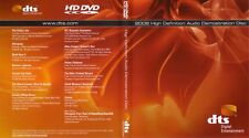 New! DTS HD-DVD - 2008 High Definition Demonstration Disc - (VERY RARE!)