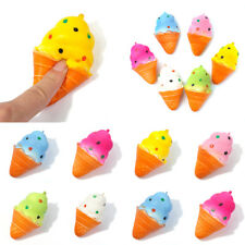 2017 Ice Cream 10cm Kawaii Squishy Colorful Super Slow Rising Bread Toys Gifts