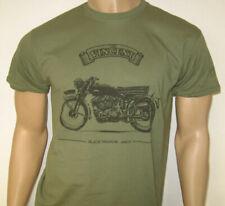 Schwarz Schatten Motorrad T-Shirt Classic British Bike hergestellt 1948-55 - 5 G...