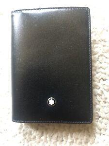 Montblanc Ticketholder Kreditkarten Visitenkartenetui NEU 75x105mm