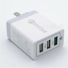 High Power 3-Port Fast Charging QC3.0 Dock Travel Charger for ZTE Grand X 3 Z959