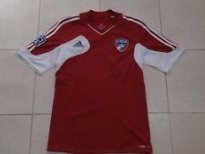FC DALLAS ADIDAS SHORT-SLEEVE MLS RED SOCCER JERSEY MEN S