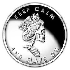 2012 1 oz Slave Queen Proof Silver Bullet Silver Shield SSG SBSS 777