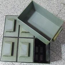 Rosso Cassettiera Mobil Plastic Modello Madia 2-6 Cassetti