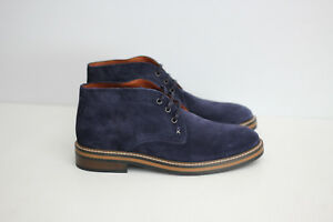 NEW Wolverine 1883 'Francisco' Suede Chukka Boots - Navy Blue - Size 8US  (C76)