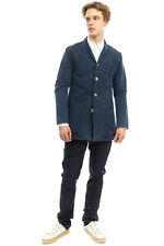 RRP €140 TOLU WEAR Canvas Blazer Jacket Size XL Garment Dye Notch Lapel Collar