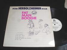 PETER HERBOLZHEIMER RC § B/FAT MAN BOOGIE/JAZZ/BELLAPHON/GERMAN PRESS