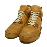 Hender Scheme mip-10 Mid-cut leather sneaker natural size 5 210519 Ender s (22
