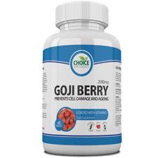 Goji Berry Antioxidant High Strength Tablets Strong Wolfberry Lycium Pills x 240